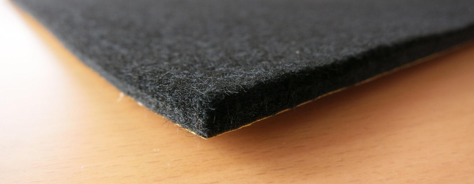 filzgleiter din formate 6mm dick filz in premiumqualit t. Black Bedroom Furniture Sets. Home Design Ideas