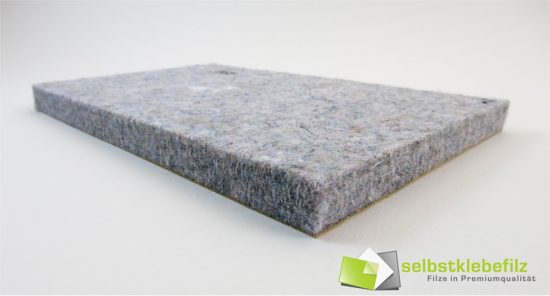 filz meterware 10mm dick filz selbstklebend grau meliert. Black Bedroom Furniture Sets. Home Design Ideas