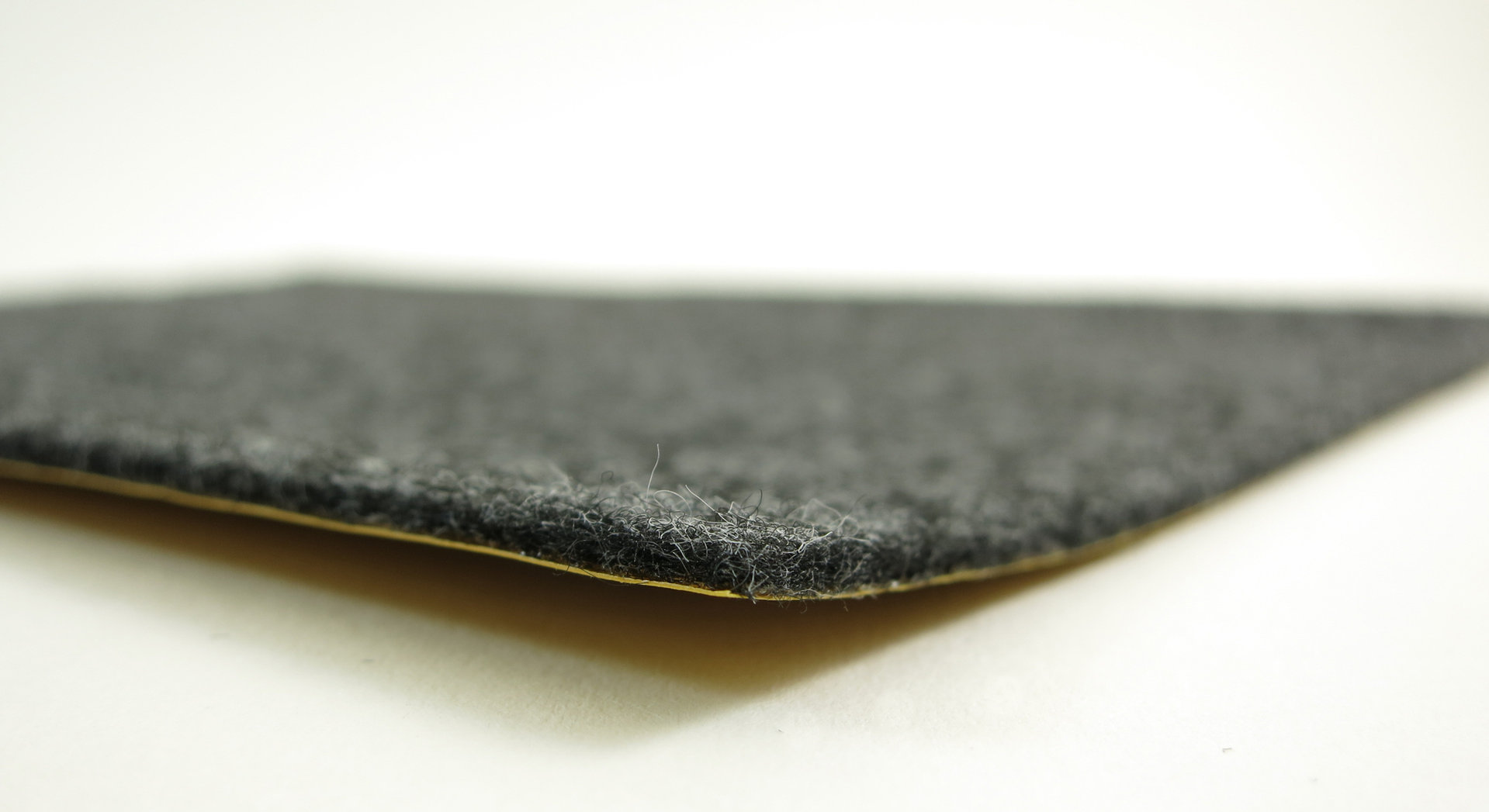 Filzgleiter quadratisch ab 5x5cm, 2mm dick | selbstklebend | schwarz + anthrazit