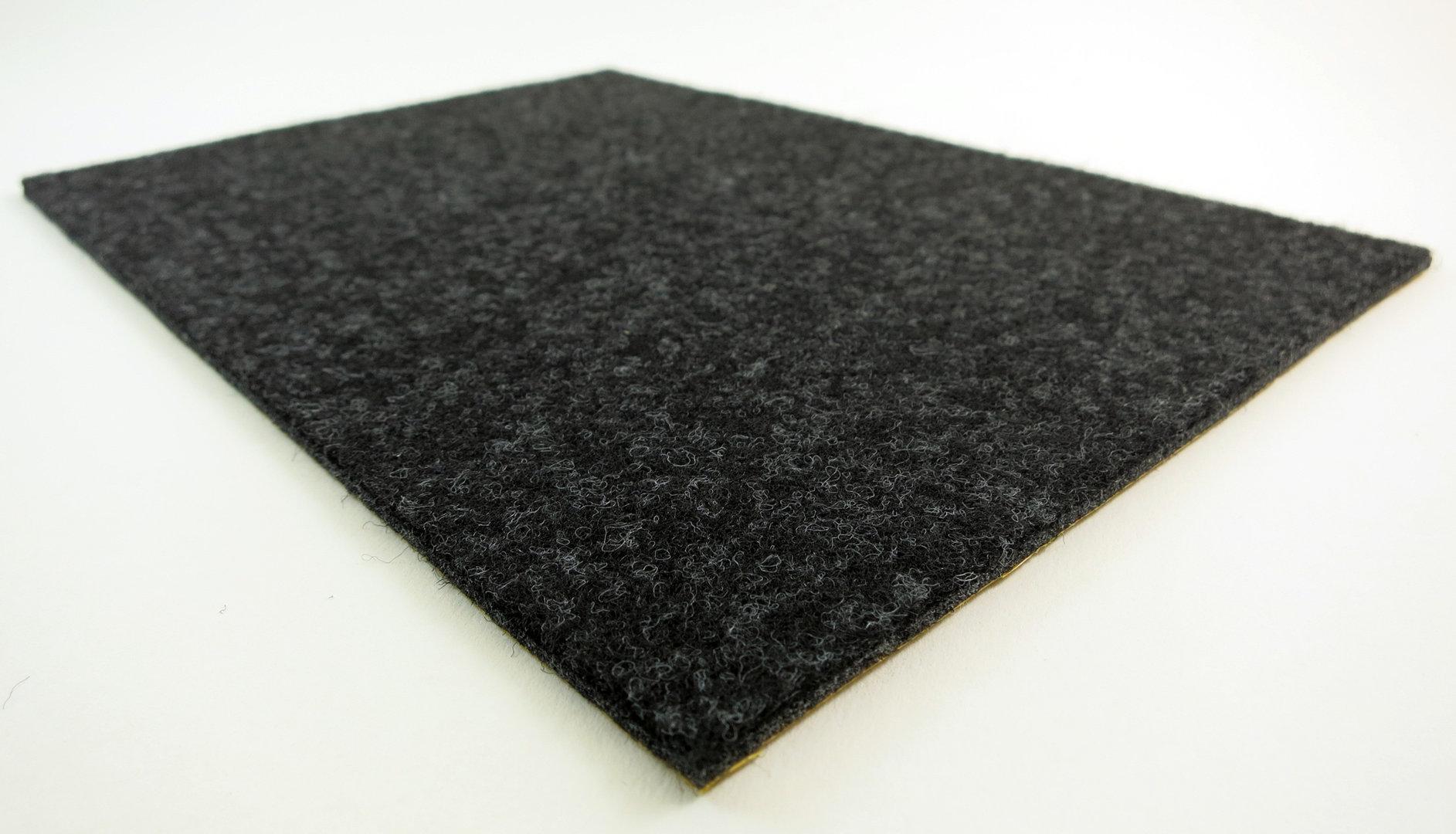 Filzgleiter quadratisch ab 5x5cm, 3mm dick | selbstklebend | schwarz, anthrazit, braun, weiß