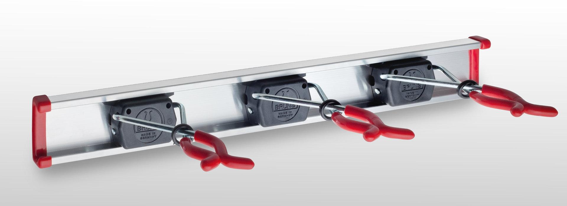 Bruns SB 3.05 - 3 Gerätehalter mit 0,5m Schiene
