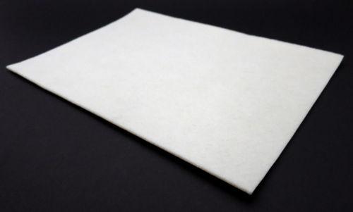 Filzgleiter quadratisch ab 5x5cm, 2mm dick | selbstklebend | weiß