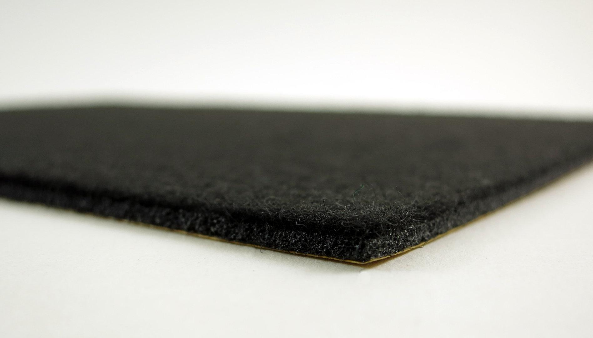 AKTIONSARTIKEL - Filzplatte 13x30cm selbstklebend - 3mm dick   schwarz, anthrazit, braun, weiß
